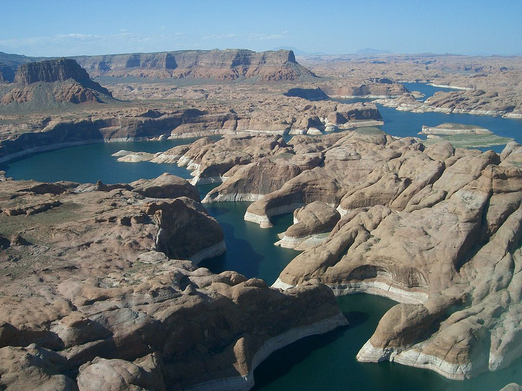 Lake Powell from above. Image courtesy of Wikipedia
