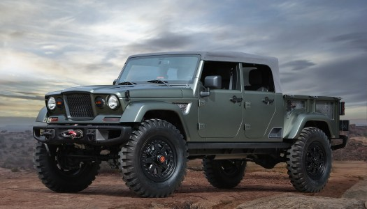 Jeep Prepares Concepts for Easter Jeep Safari