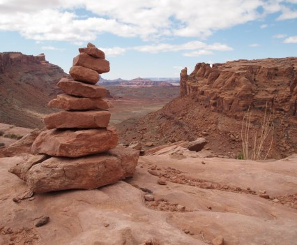 Rock Cairns of Moab – Photo by Charles Watkins