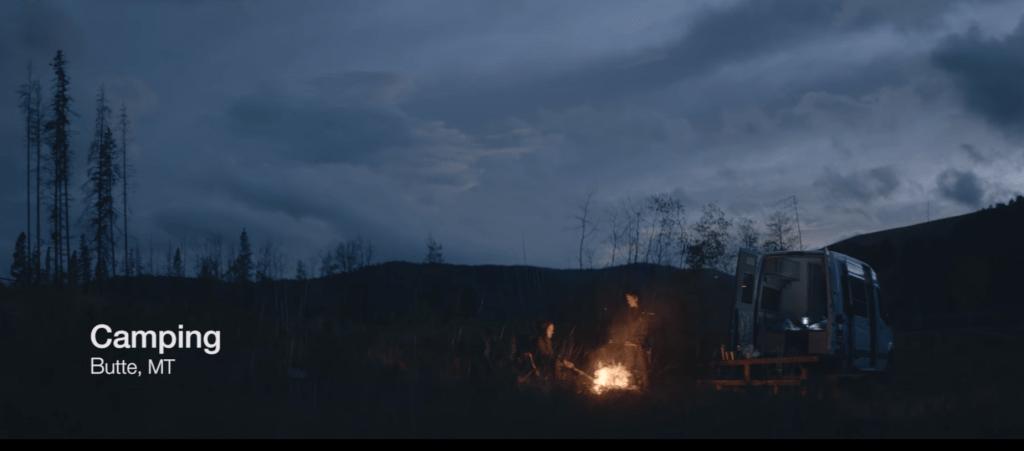 camping butte montana