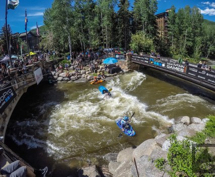 GoPro Mountain Games -Whitewater Kayakers -Photo by ShowLoveMedia