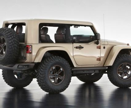 2017 Jeep Wrangler Exterior Concept Rumors