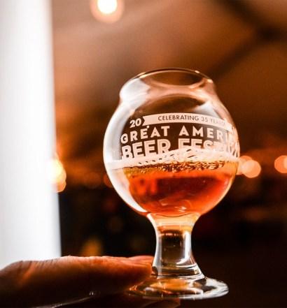 GABF Taster - Photo © Brewers Association