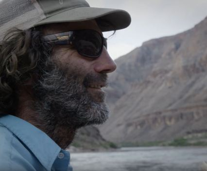 john shocklee in the canyon - Video still care of Yeti Coolers