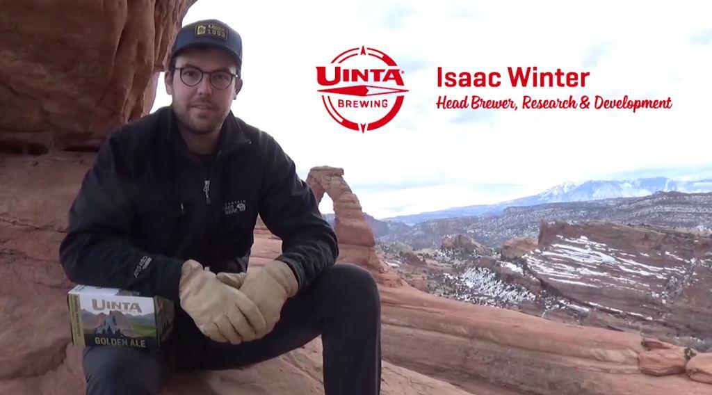 Isaac Winter of Uinta Brewing