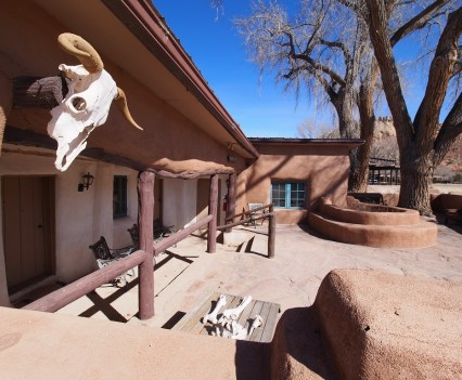 The Ghost House at Ghost Ranch