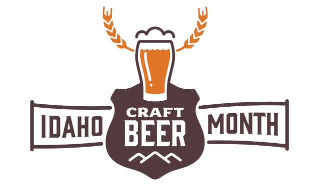idaho craft beer month logo