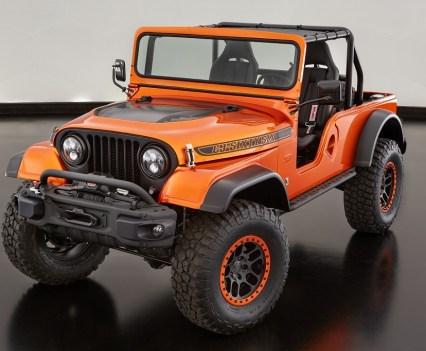 The Jeep CJ66 Concept