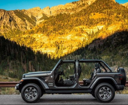 2018 Jeep Wrangler JL Unlimited.