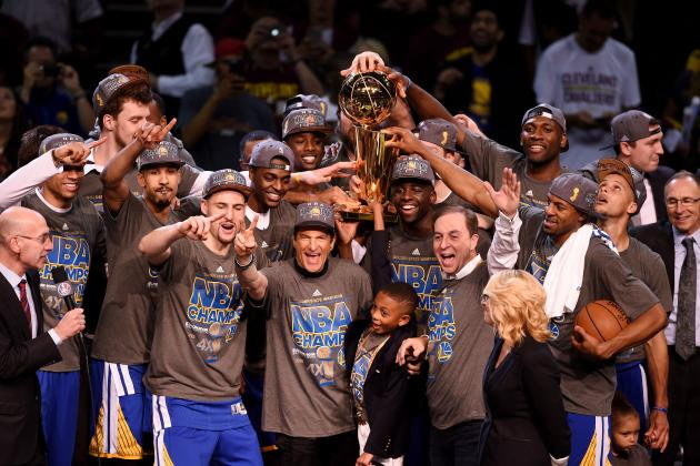 The Golden State Warriors were selceted as the Best Team of 2015.