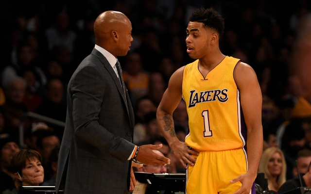 D'Angelo Russell benched by Byron Scott due to selfishness