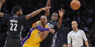 Kobe Bryant dropped 38 in vintage style on the Timberwolves Tuesday night
