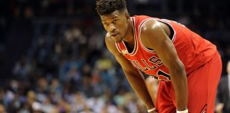 The Bulls have showed interest in trading Jimmy Butler in the off-season.