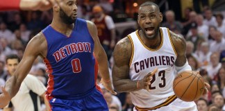 Cavs hit 20 threes to take a 2-0 series lead against the Pistons