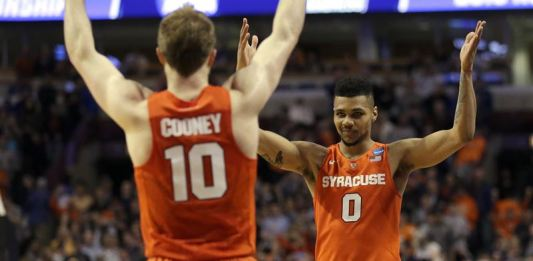 Michael Gbinije and Malachi Richardson led the Orange into an all-ACC Final Four battle against Brice Johnson and the Tar Heels.