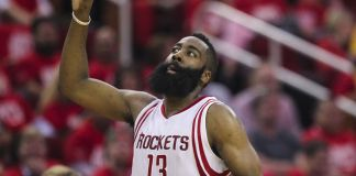 James Harden nailed a game-winner to steal game three from Golden State
