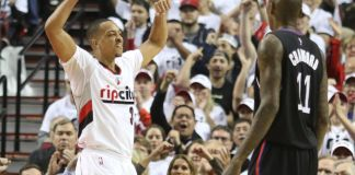 C.J. McCollum and Damian Lillard combine for 59 points in a Trail Blazers' win