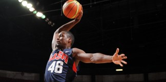Harrison Barnes was selected as the 12th man for the Olympic team