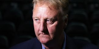 """Larry Bird """"couldn't imagine"""" teaming up with Magic Johnson."""