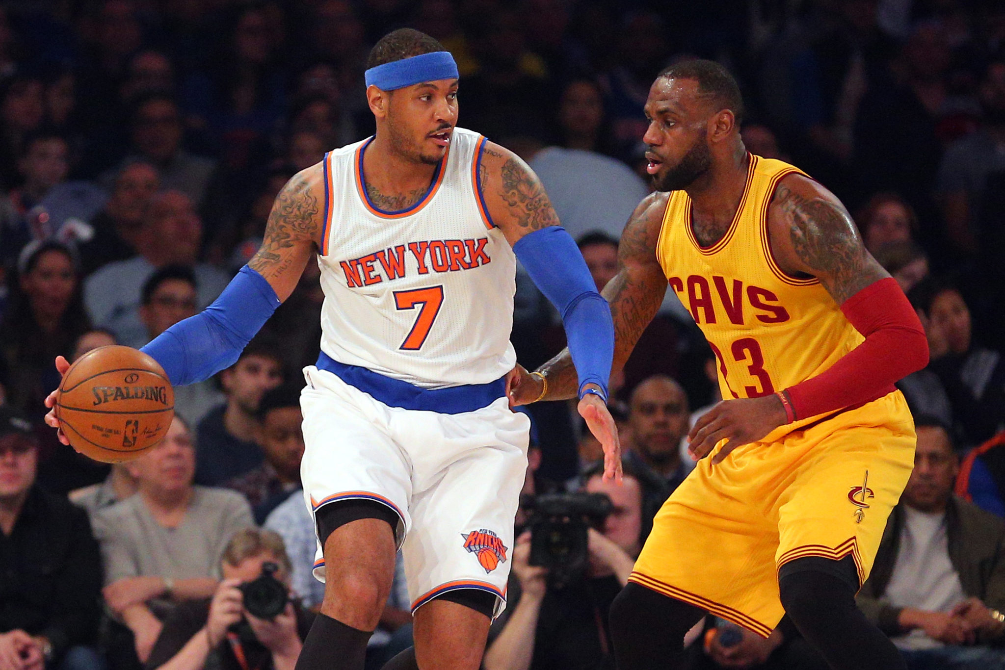 65df5de45d6a Carmelo Anthony Can t Fathom Why Phil Jackson Is Talking About LeBron