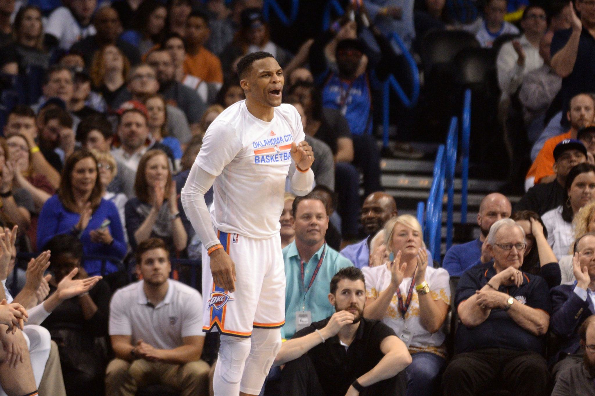 Westbrook relishes his triple-double moment