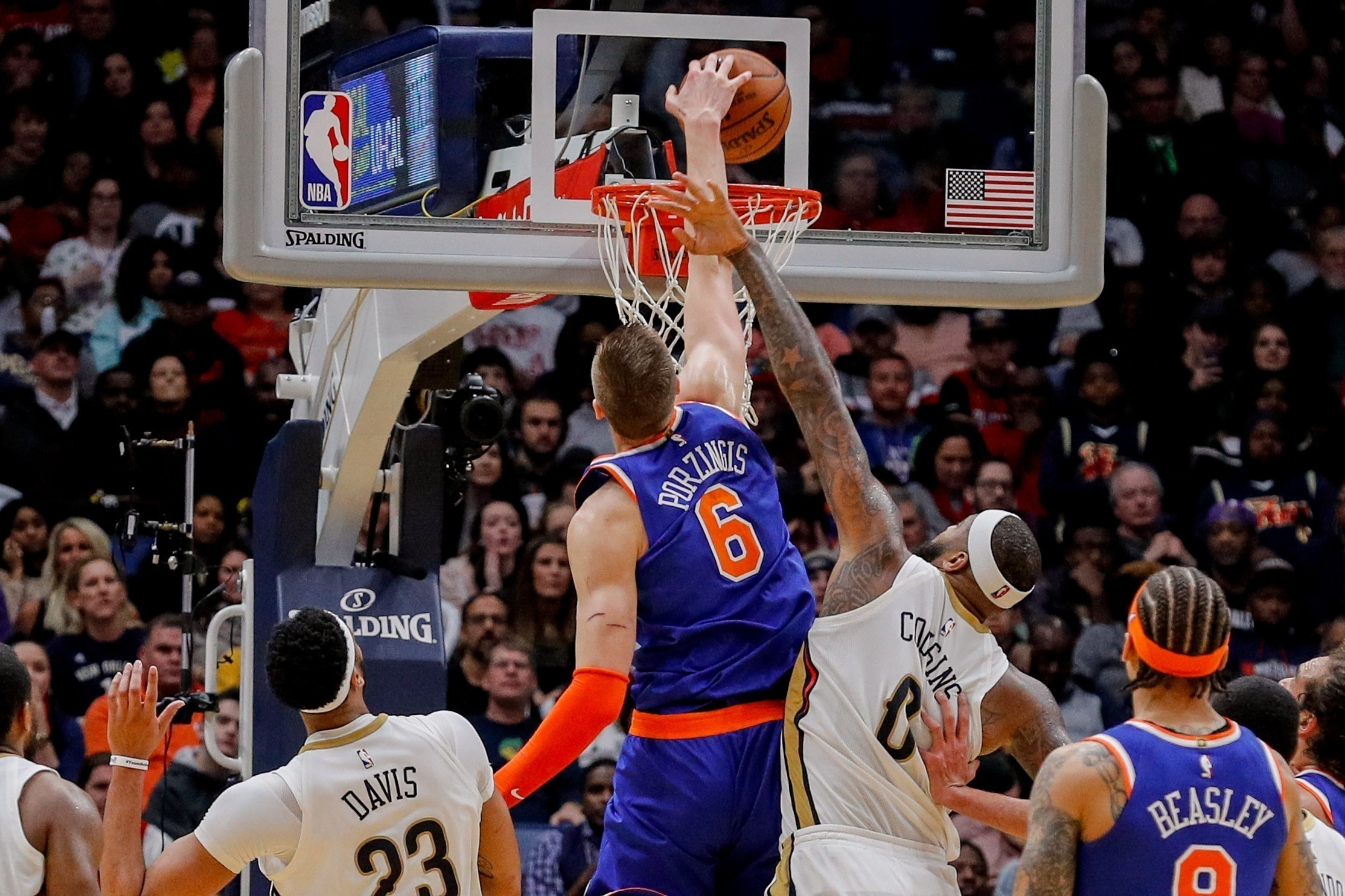 Behind the Numbers presented by HUB International: Knicks at Pelicans