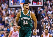 NBA: Milwaukee Bucks, Giannis Antetokounmpo