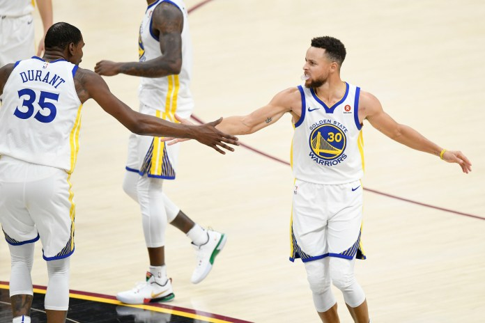 NBA: Golden State Warriors, Kevin Durant, Stephen Curry