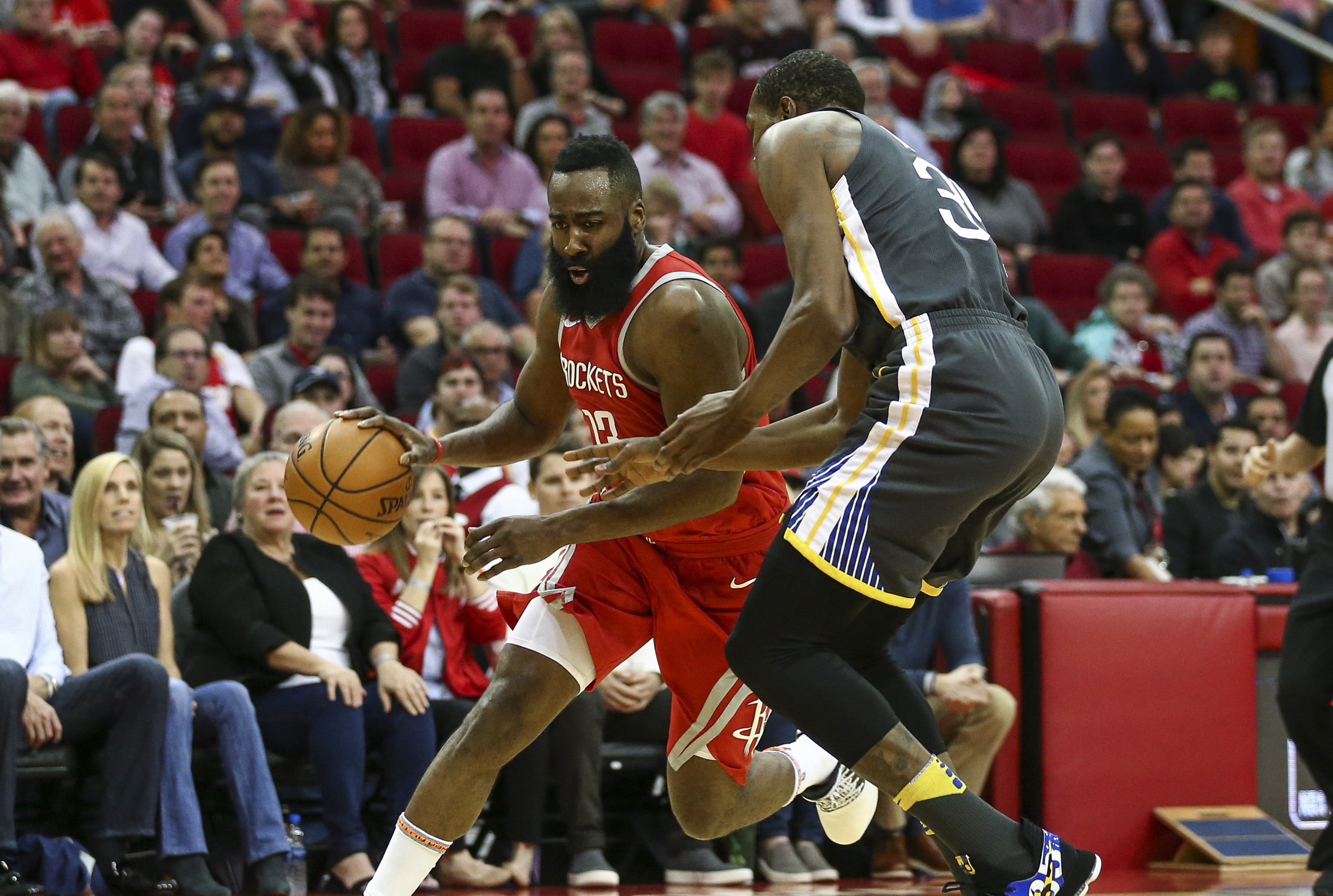 Golden State's road win streak snapped in Houston, but Warriors aren't concerned