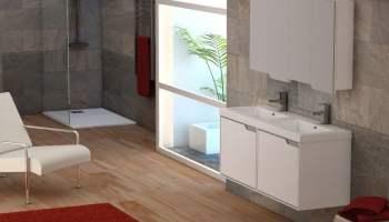 Decoración de baño moderno sólo cambiando 3 elementos 416f905fb418