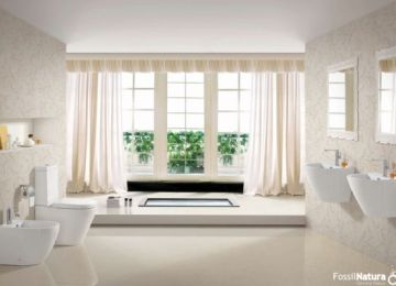 5 baños estilo nórdicos de inspiración escandinava