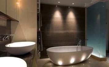 ¿Qué tipo de lámparas triunfarán en mi baño?
