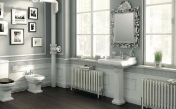 Baños vintage: lo viejo es lo nuevo ahora