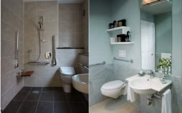 Baños para minusválidos 100% seguros