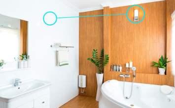 ¿Cuarto sin ventanas? Ideas brillantes para crear un baño con luz