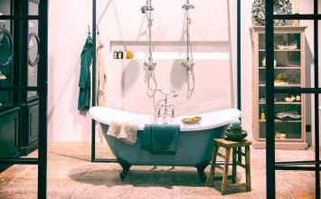Cómo crear baños clásicos con aires renovados