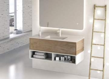 ¿El caos se apodera de tu baño? Muebles que te solucionarán la vida