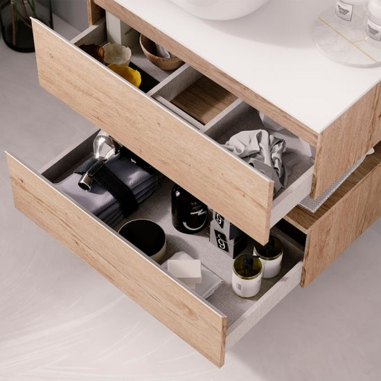 Modelos de  tiradores para muebles de baño