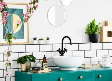 Decorar baños con cuadros: ideas que te encantarán