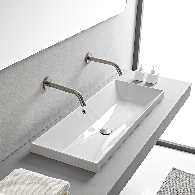 trough bathroom sinks thebathoutlet