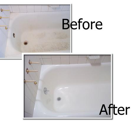 Bathtub Refinishing Chip Repair Amp Tile Steam Cleaning In