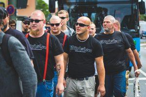 Atomwaffen Division Nazis, Kassel. Germany, July 2019.