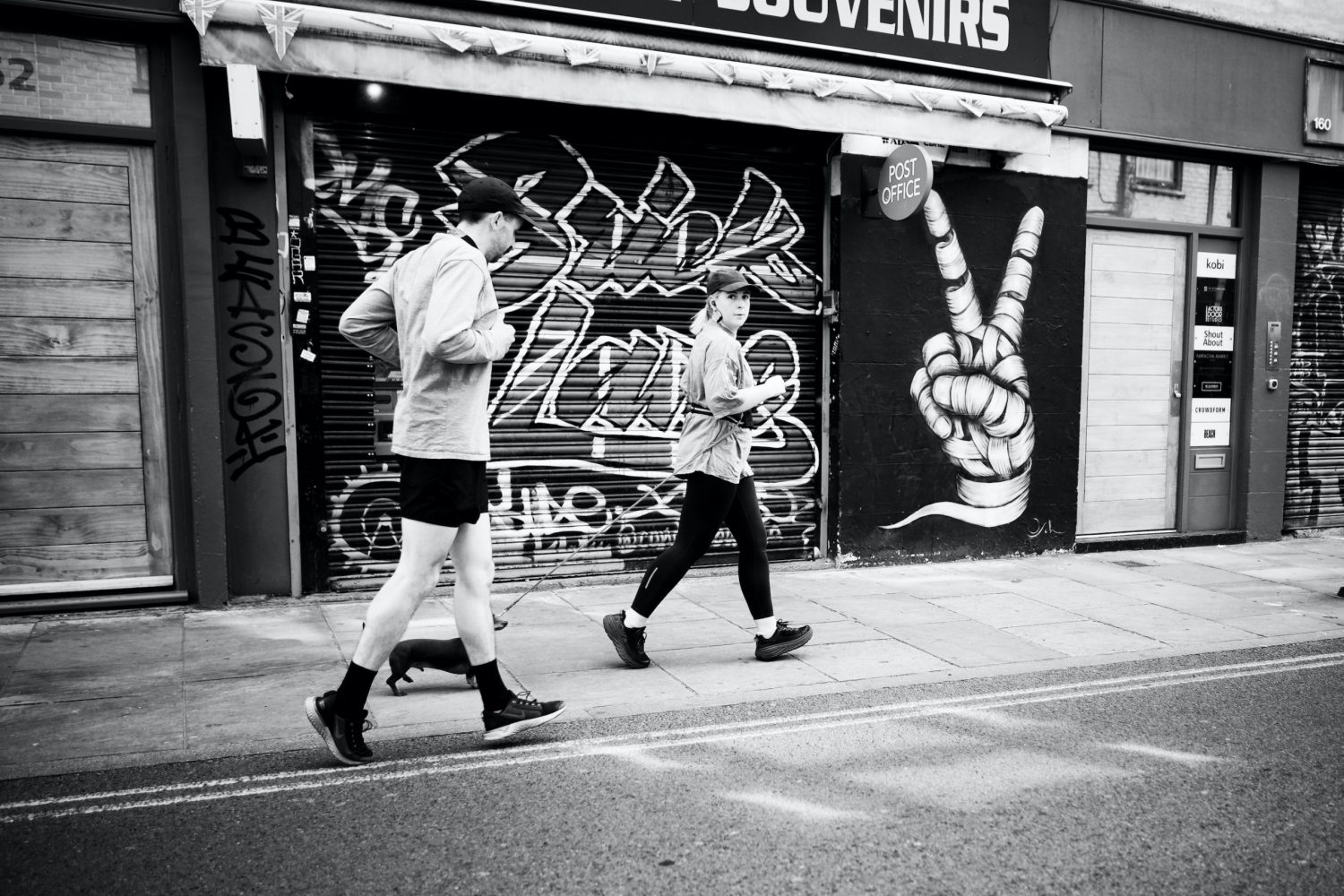 The only thing they can do is run. London, 8 May.