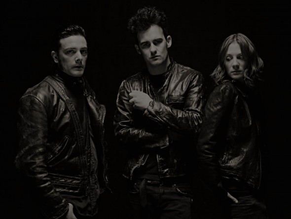 black rebel motorcycle club - photo by James Minchin III