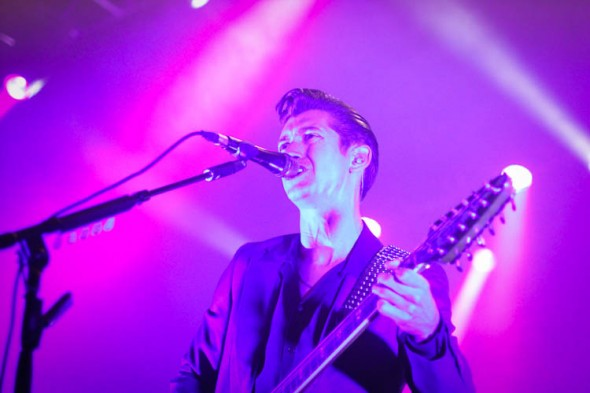 Arctic Monkeys at the Fox, 9/26/13 - by Gary Magill