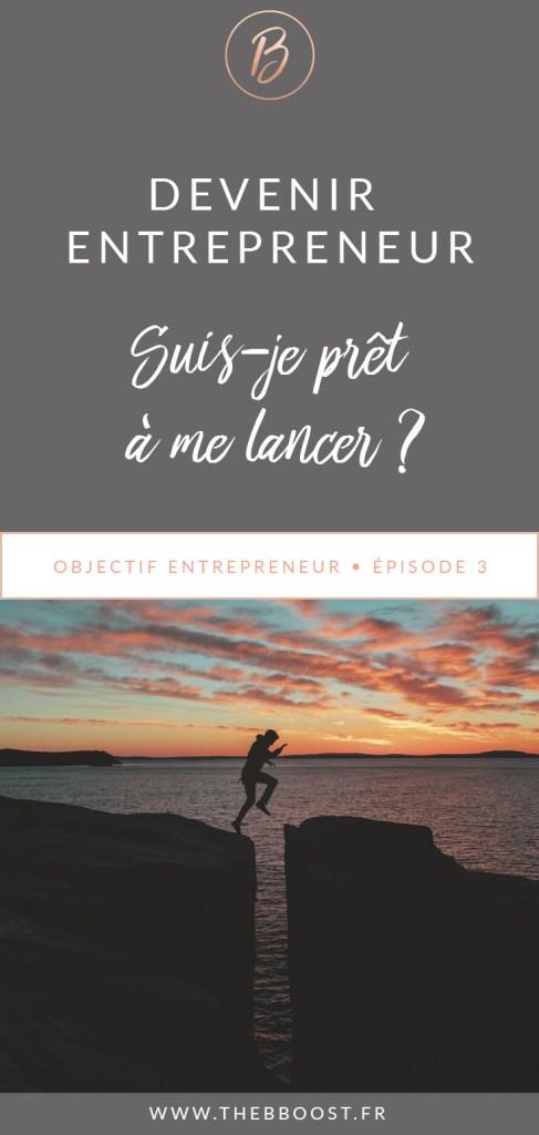 Es-tu prêt pour devenir entrepreneur ? Trouve la réponse ici ! www.thebboost.fr #freelance #autoentrepreneur #entrepreneur