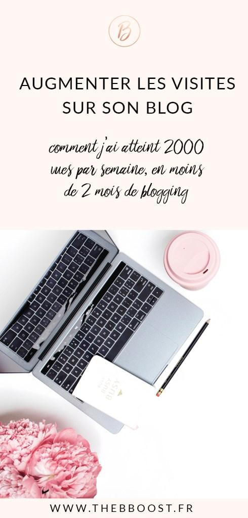 Comment augmenter efficacement les visites sur son blog ? Je vous dévoile ma stratégie ici ! www.thebboost.fr #entreprendre #freelance #autoentrepreneur #blogging