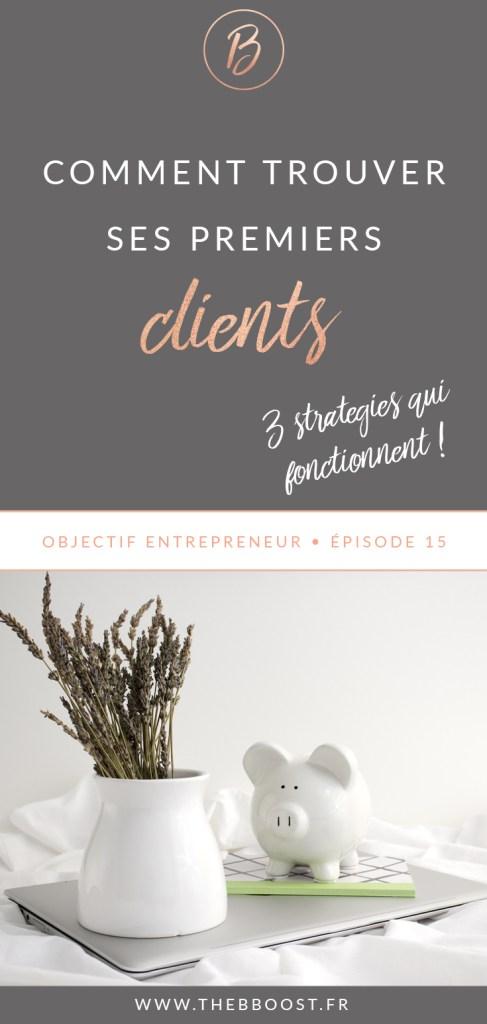 Comment trouver ses premiers clients quand on débute comme #autoentrepreneur ou #freelance ? Voici 3 stratégies testées et approuvées, qui fonctionnent vraiment ! 🚀 www.thebboost.fr #entrepreneur #entreprendre