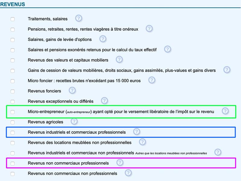 Choisir la bonne déclaration et le bon formulaire pour les impôts auto entrepreneur