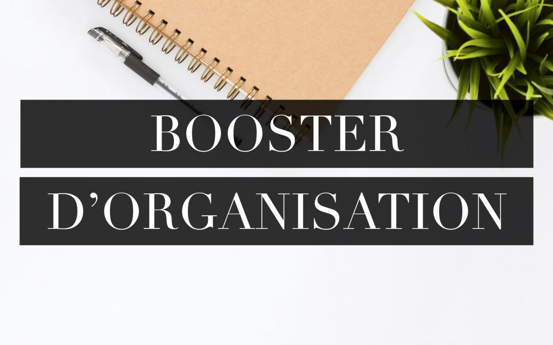 formation booster d'organisation
